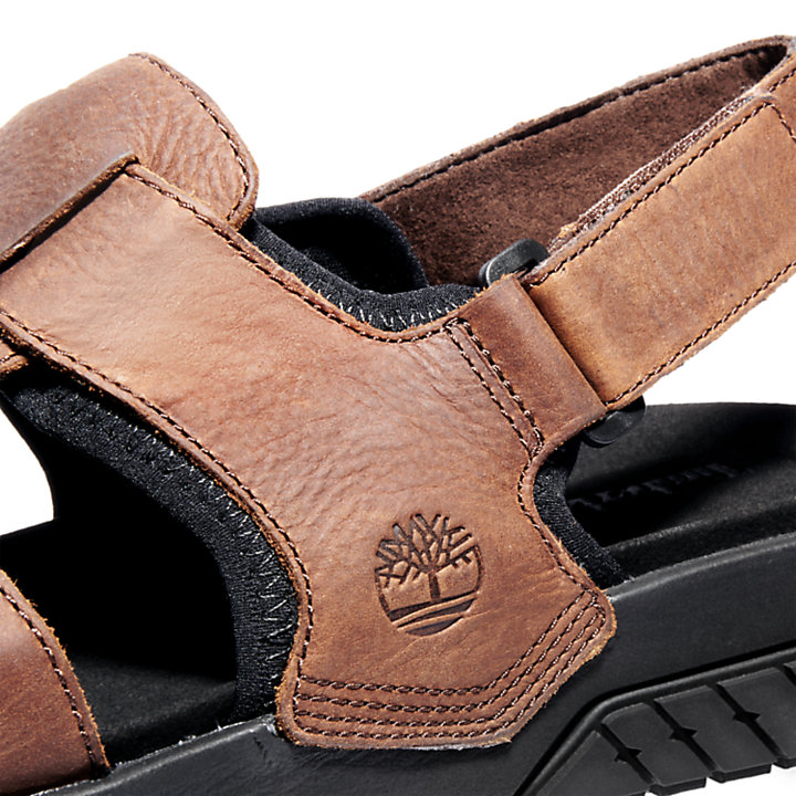 Anchor Watch Fisherman Sandal for Men in Brown-