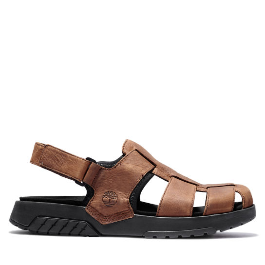 Anchor Watch Fisherman Sandal for Men in Brown | Timberland
