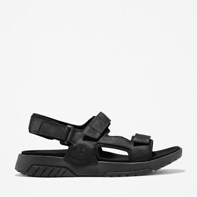 Anchor+Watch+Backstrap+Sandal+for+Men+in+Black