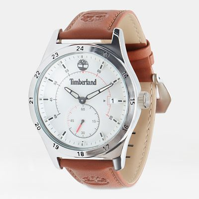 Boynton+Watch+for+Men+in+Cream%2FTan