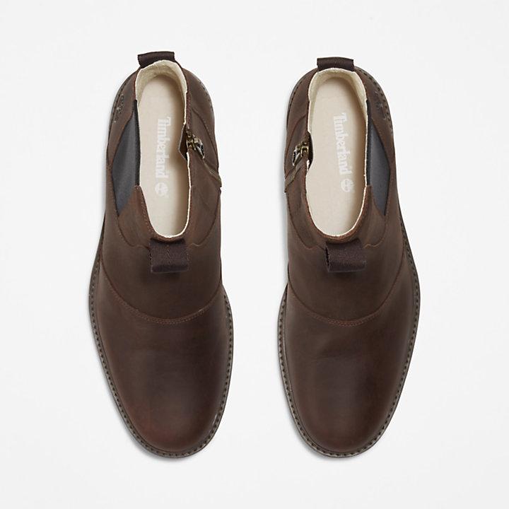 Bota Chelsea Stormbucks de hombre en marrón oscuro-