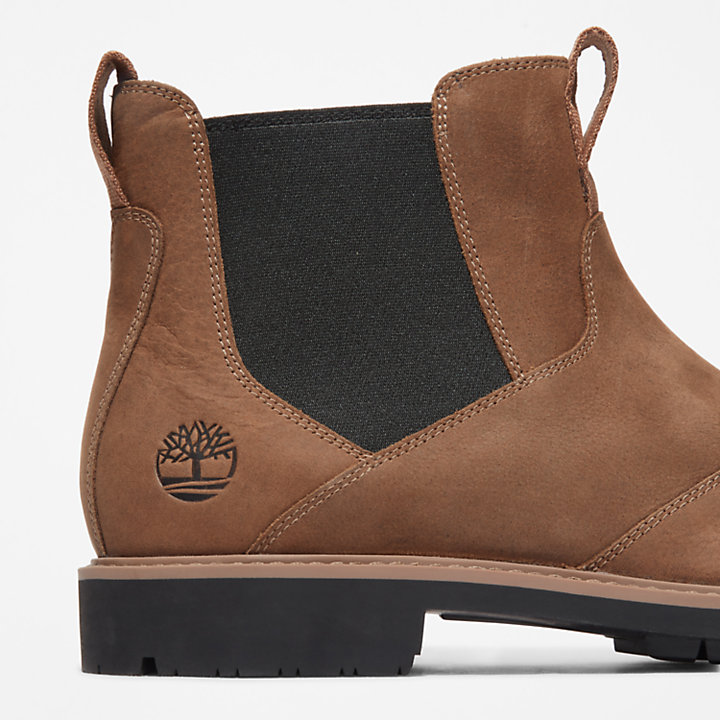 Stormbucks Chelsea Boot for Men in Light Brown-