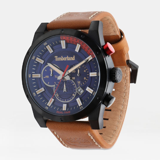 Sherbrook Watch for Men in Blue/Tan | Timberland