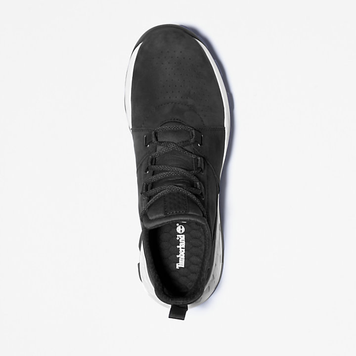 Brooklyn Lace-Up Sneaker for Men in Black-