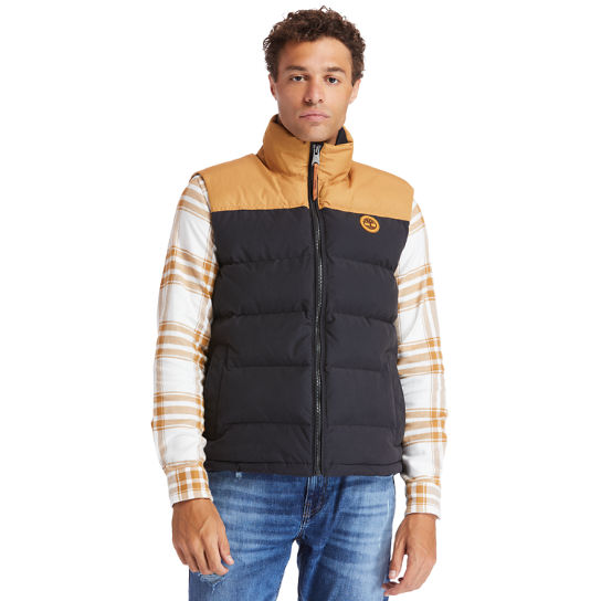 Welch Mountain Puffer Vest for Men in Yellow | Timberland