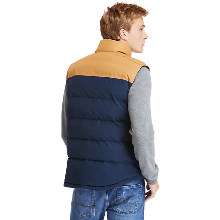 Welch Mountain Puffer Vest for Men in Navy-
