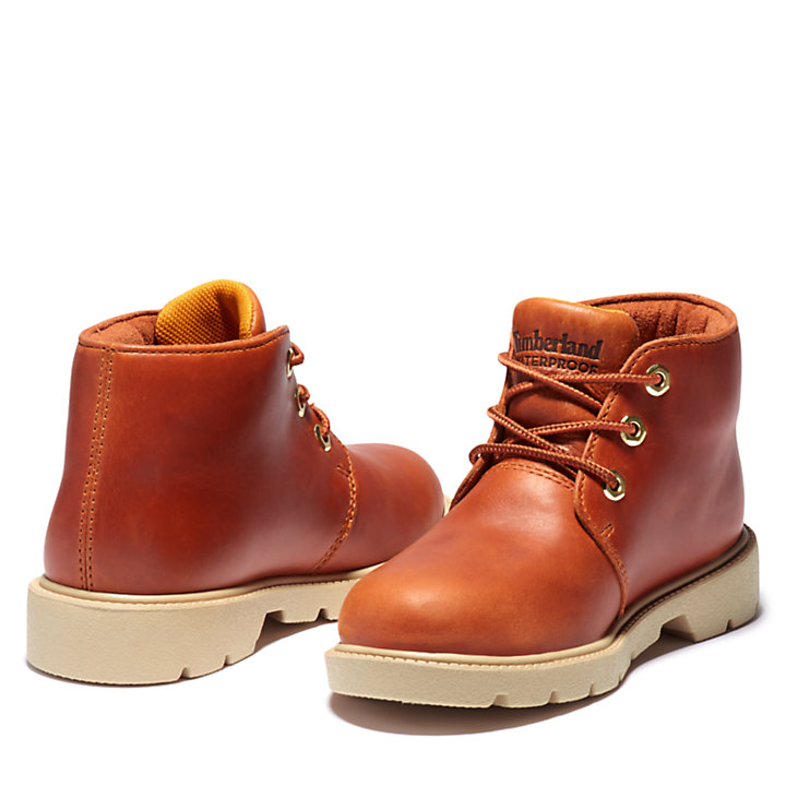 Newman Chukka for Youth in Brown-