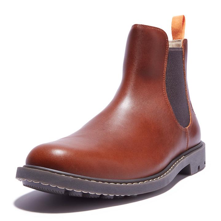 Men's Belanger EK+ Leather Chelsea Boots in Brown-