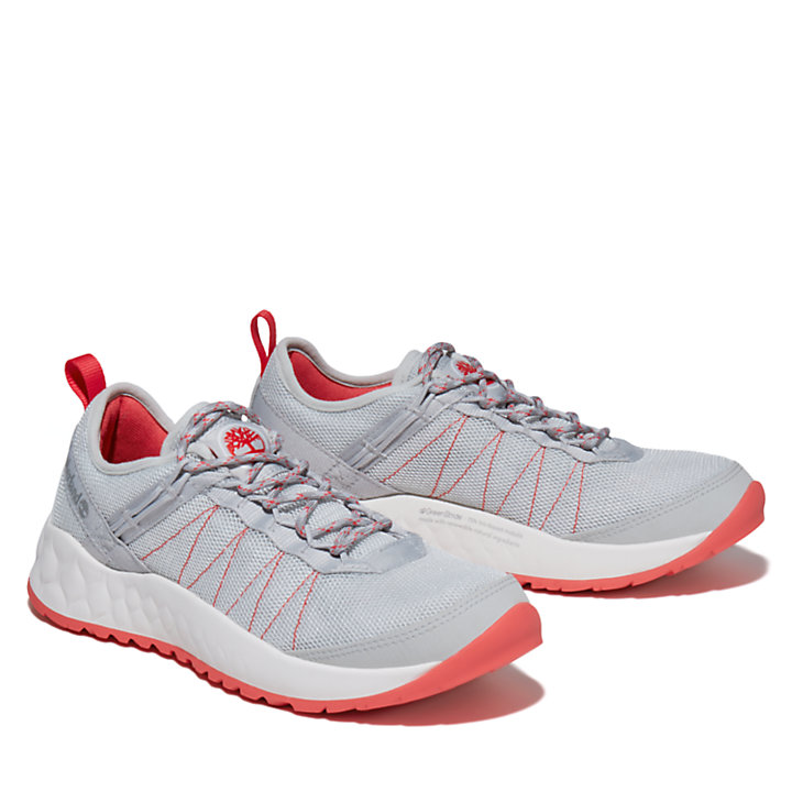 Solar Wave Low Sneaker for Women in Grey-