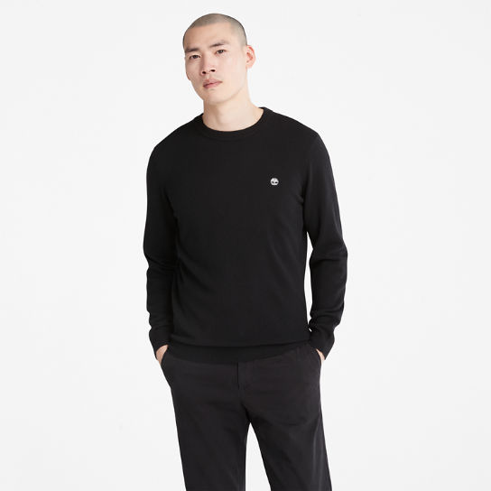 Cohas Brook Sweater for Men in Black | Timberland