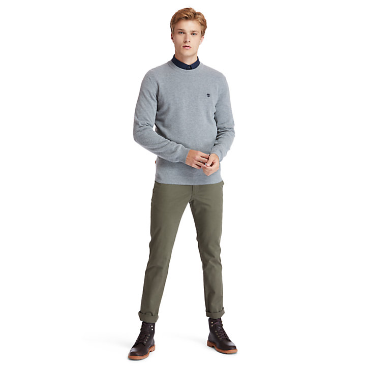 Cohas Brook Sweater for Men in Grey-