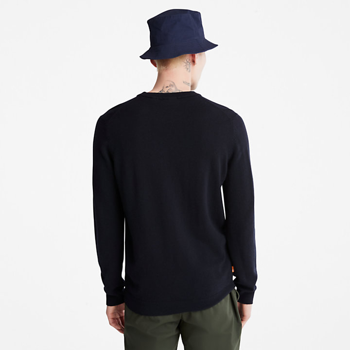Cohas Brook Sweater for Men in Navy-
