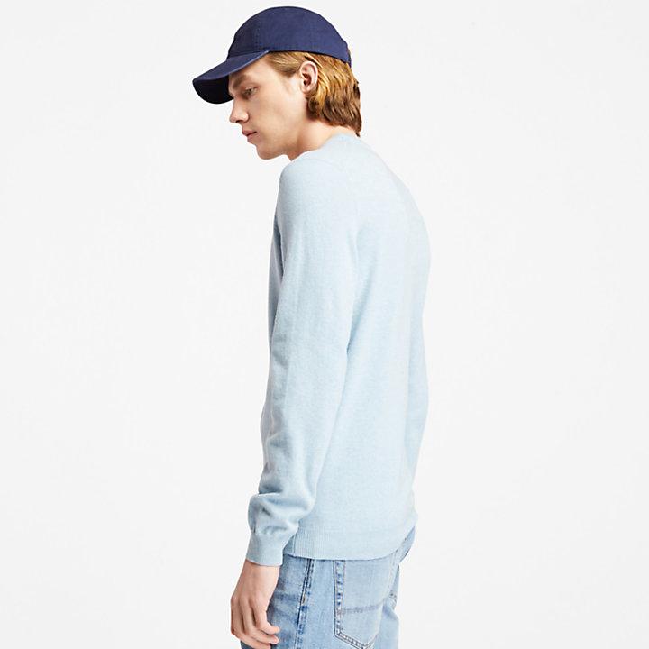 Cohas Brook Crewneck Sweater for Men in Light Blue-