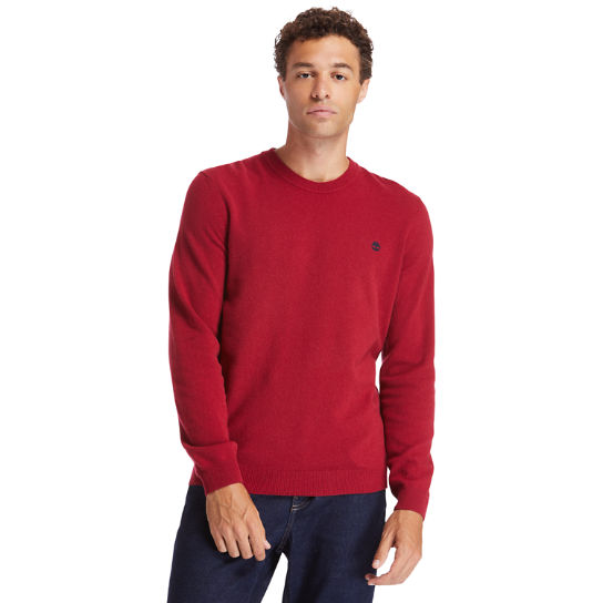 Cohas Brook Sweater for Men in Red | Timberland