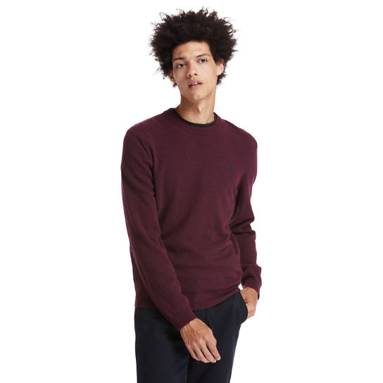 Cohas Brook Sweater for Men in Burgundy | Timberland