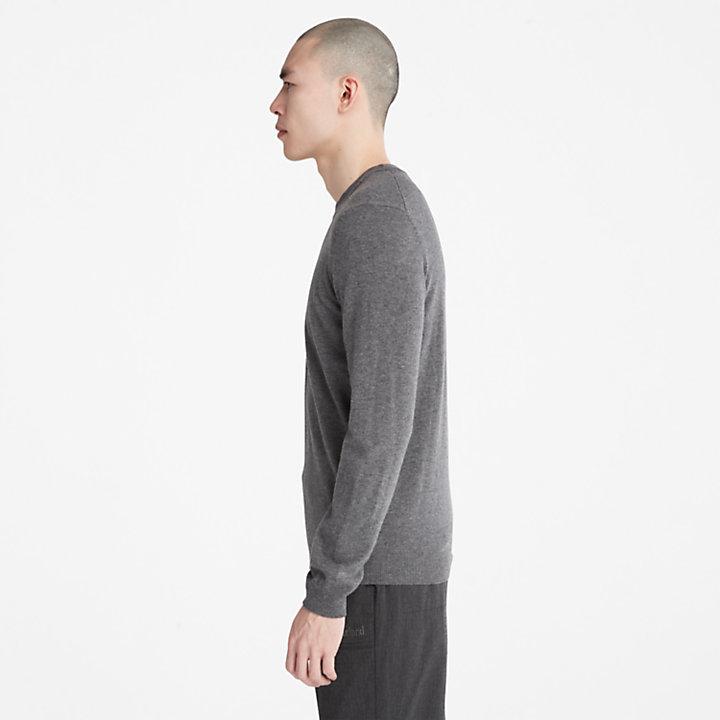 Cohas Brook Sweater for Men in Dark Grey-