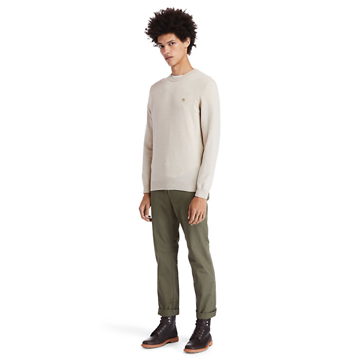 Cohas Brook Sweater for Men in Beige-