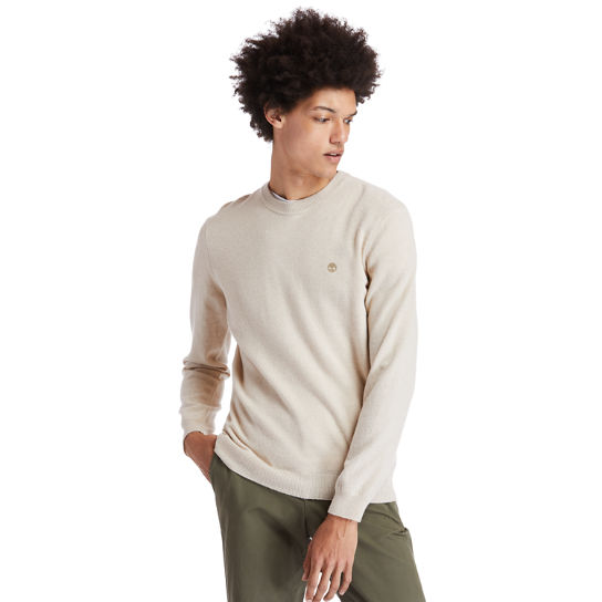 Cohas Brook Sweater for Men in Beige | Timberland