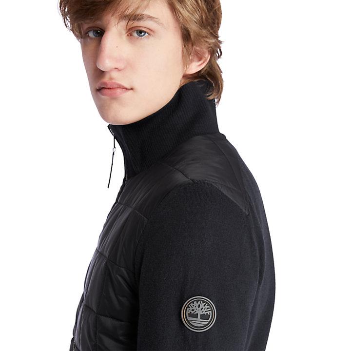 Mount Tripyramide Hybride jas met rits voor heren in zwart-