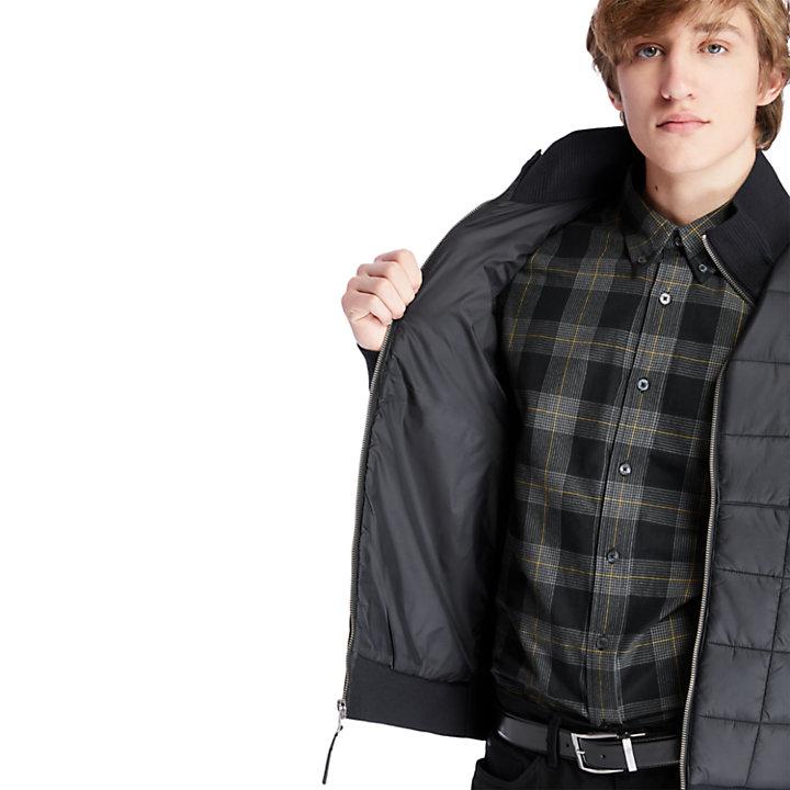 Mount Tripyramid Hybrid Zip Jacket for Men in Black-