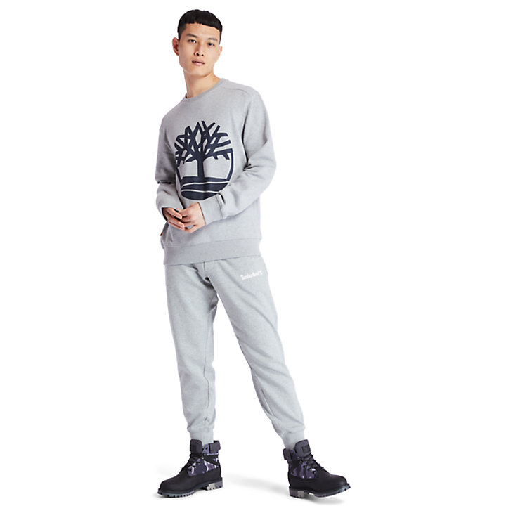 Core Tree Logo Sweatshirt for Men in Grey-