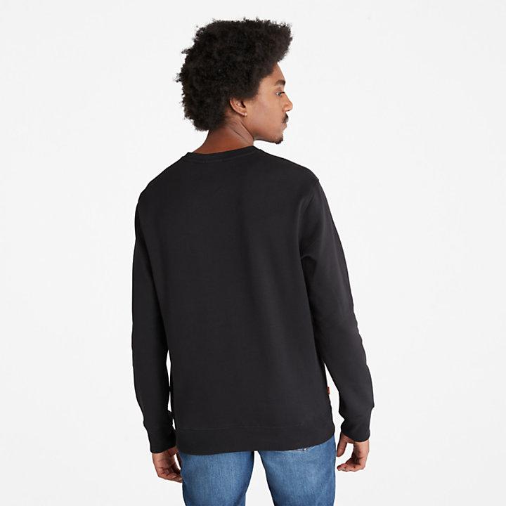 Sudadera con el logo del Árbol Core para Hombre en color negro-