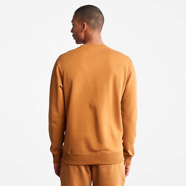 Core Tree Logo Sweatshirt for Men in Yellow-