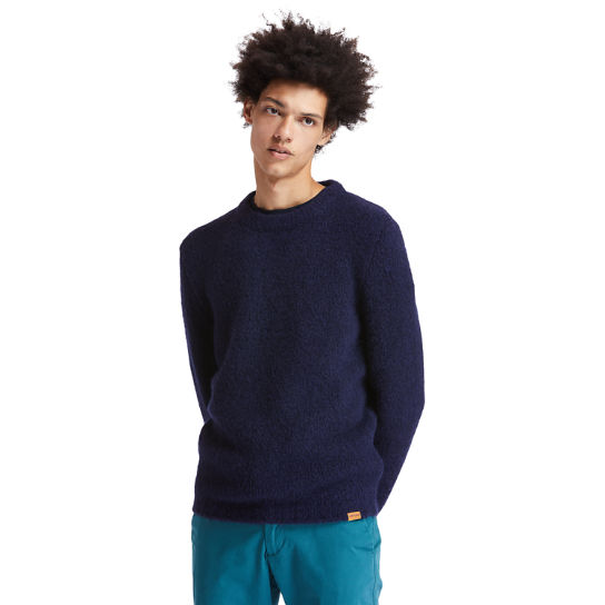Soucook River Crew Sweater for Men in Navy | Timberland