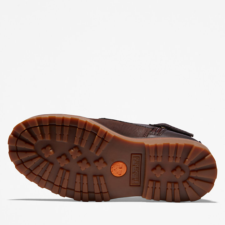 Courma Kid Chukka Boot for Youth in Dark Brown-