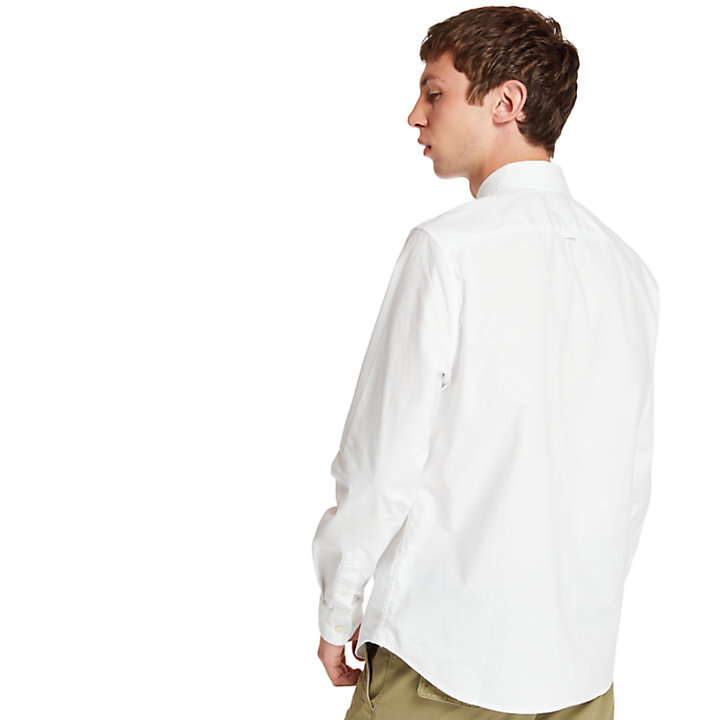 Pleasant River Shirt for Men in White-