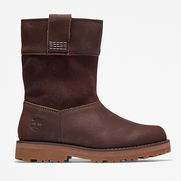 Courma Kid Pull-on Boot for Youth in Brown-