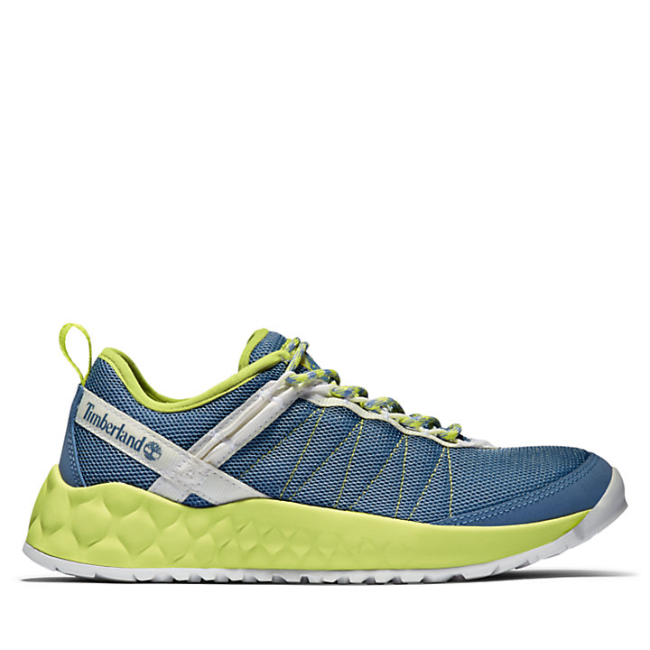 Solar Wave Low Sneaker for Women in Blue-