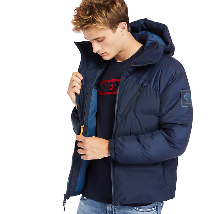 Neo Summit Hooded Jacket for Men in Navy-