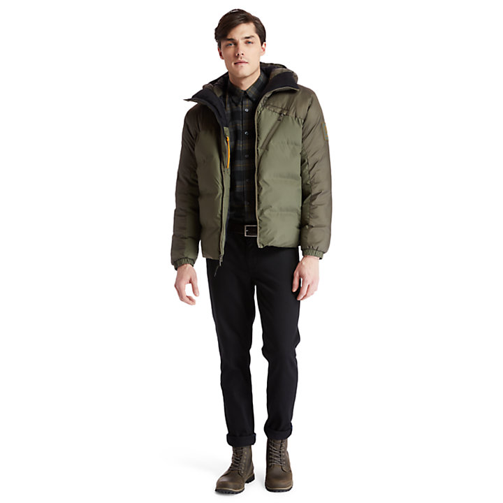 Neo Summit Hooded Jacket for Men in Green-