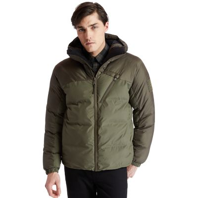 Neo+Summit+Hooded+Jacket+for+Men+in+Green