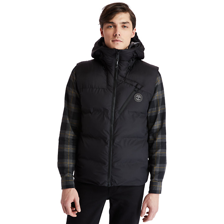 Neo Summit Quilted Gilet for Men in Black-