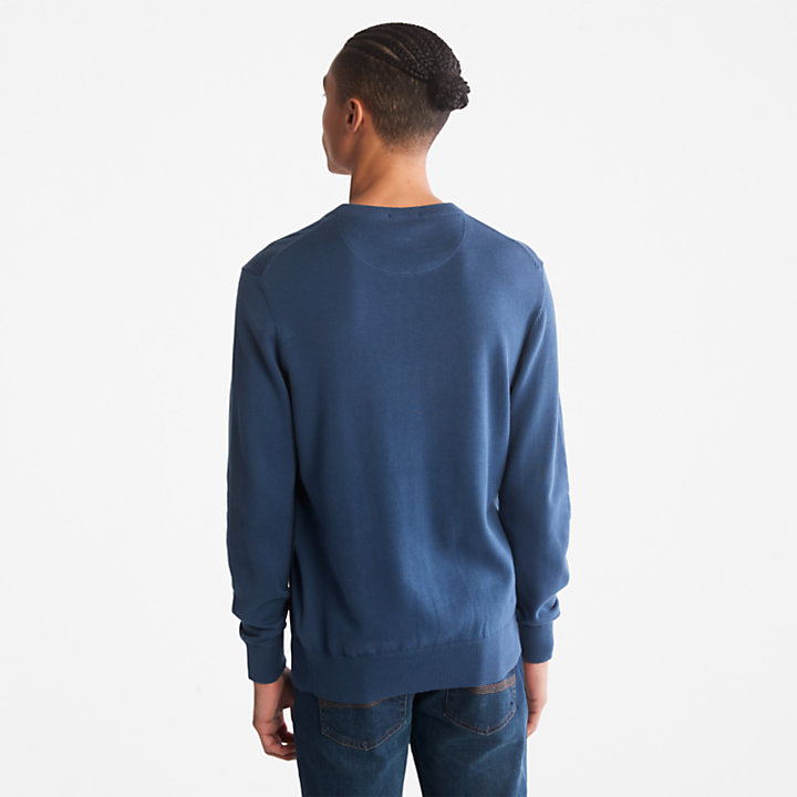 Williams River Sweater for Men in Blue-