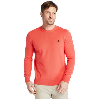 Williams+River+Pullover+aus+Bio-Baumwolle+f%C3%BCr+Herren+in+Pink