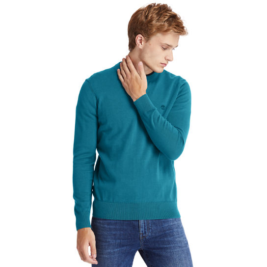 Williams River Sweater for Men in Teal | Timberland