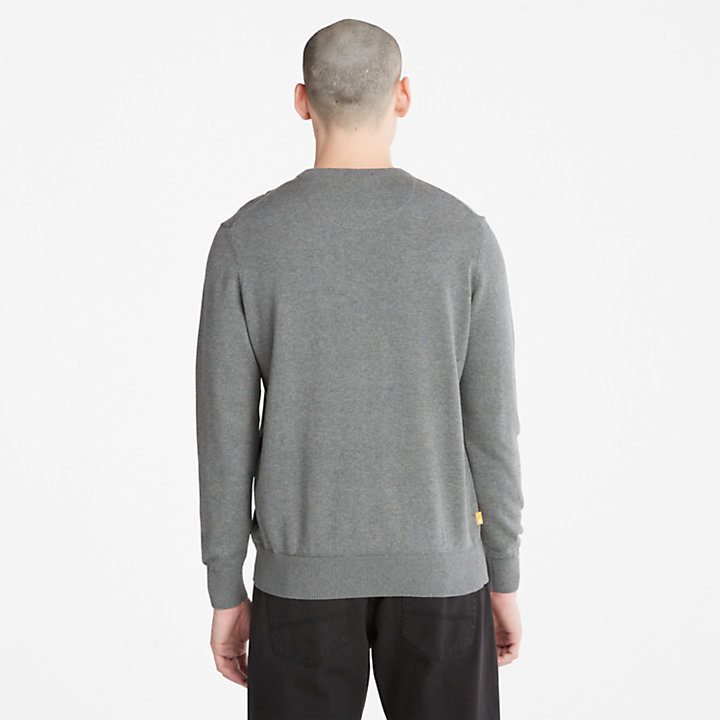 Williams River Pullover für Herren in Dunkelgrau-