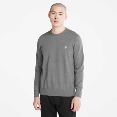 Williams+River+Sweater+for+Men+in+Dark+Grey
