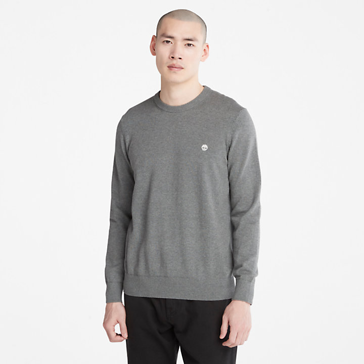 Williams River Sweater for Men in Dark Grey-