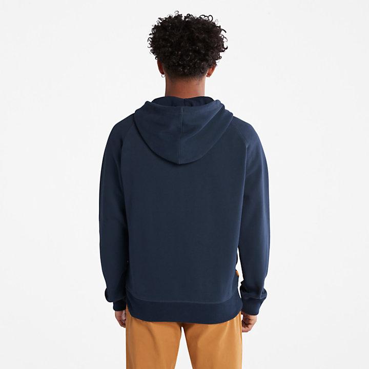 Exeter River Zip Hoodie for Men in Navy-