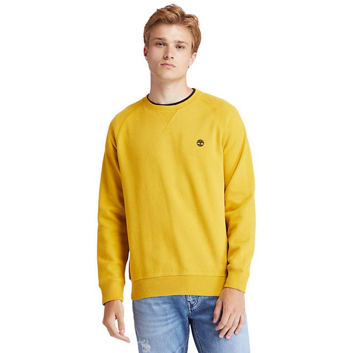 Sweat Exeter River pour homme en jaune-