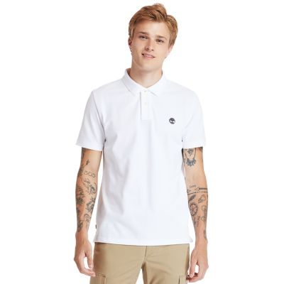 Millers+River+Organic+Cotton+Polo+Shirt+for+Men+in+White