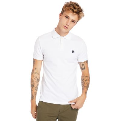 Millers+River+Polo+Shirt+for+Men+in+White