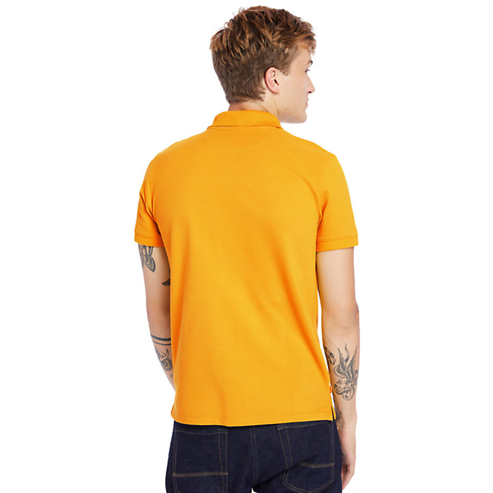 Polo Millers Rivers para Hombre en naranja-