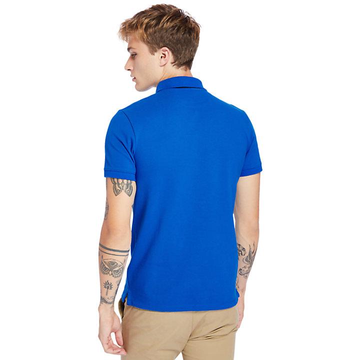 Polo Millers Rivers para Hombre en azul-