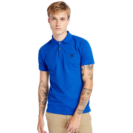 Polo Millers River pour homme en bleues | Timberland