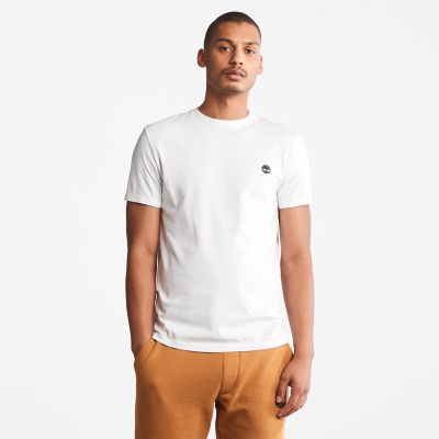 Dunstan+River+Crew+Tee+for+Men+in+White